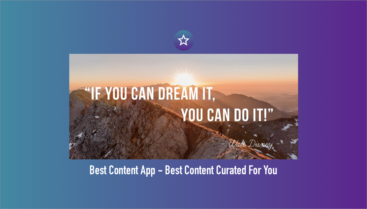 Best Content App—Best Motivational Content Curated For You