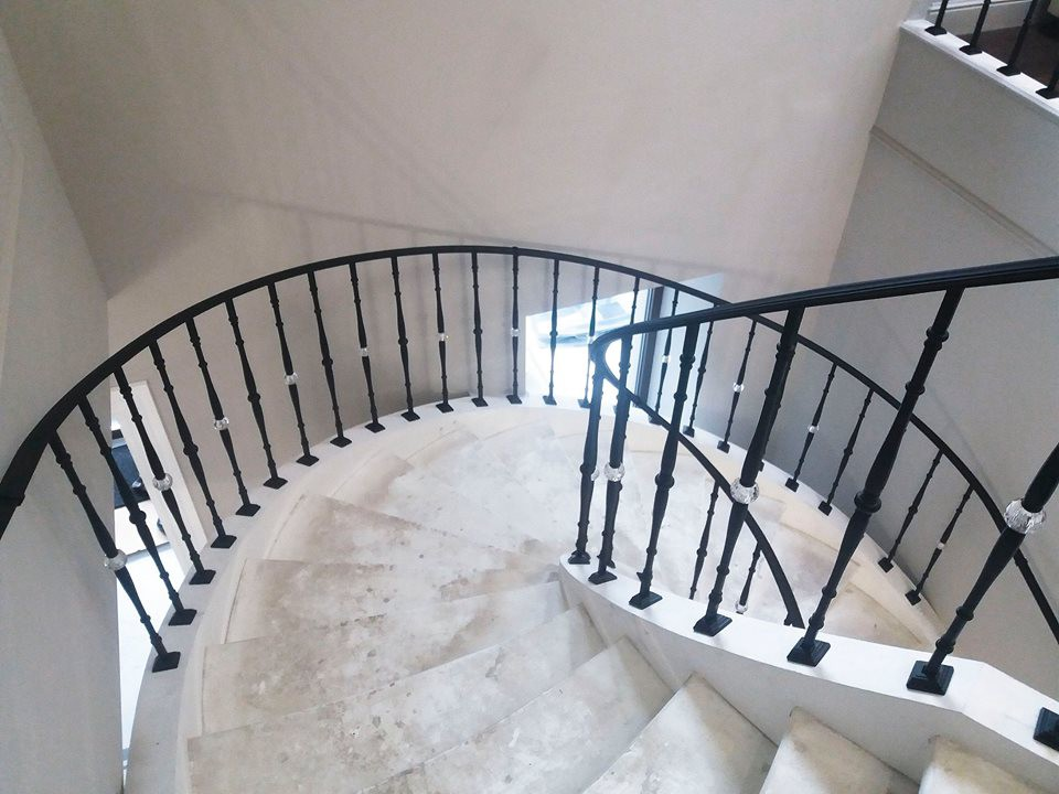 Grand Forge best crystal railing — grand-forge projects in india