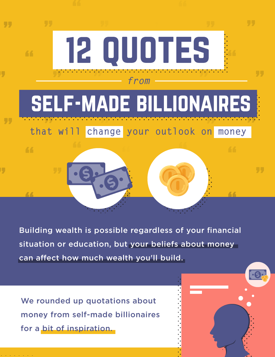 Money Matters Inspiring Quotes From Self Made Billionaires