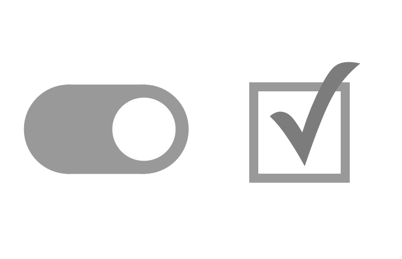 checkbox vs toggle switch ux planet