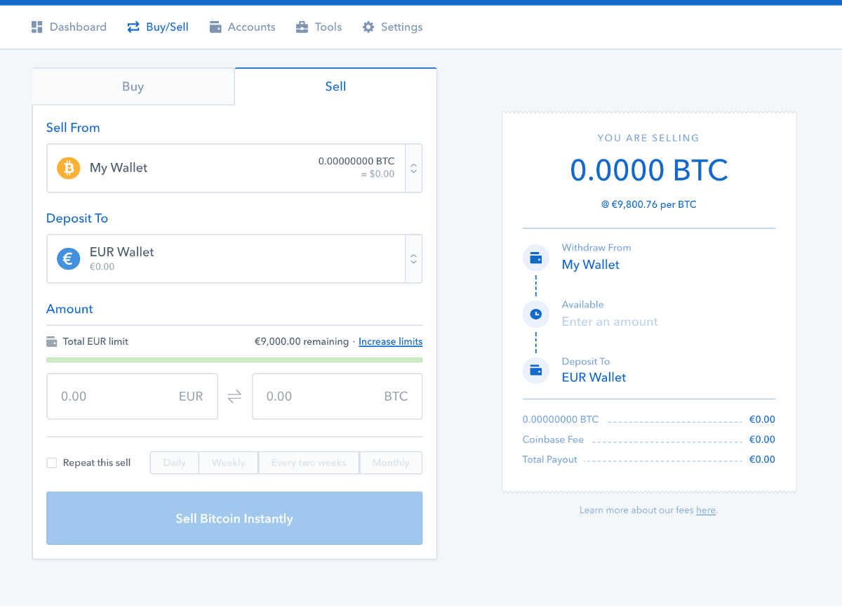 coinbase automatic buy