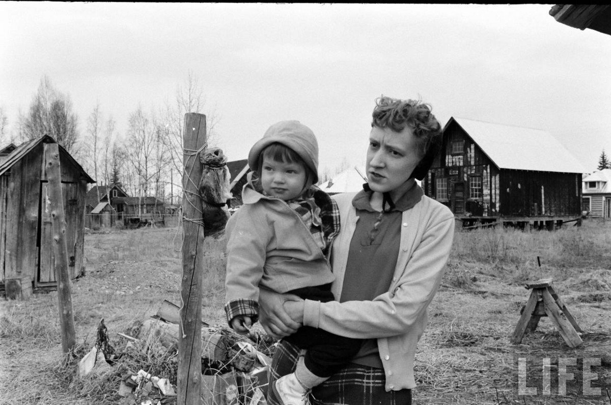 in 1959 21 families left detroit for free land in alaska