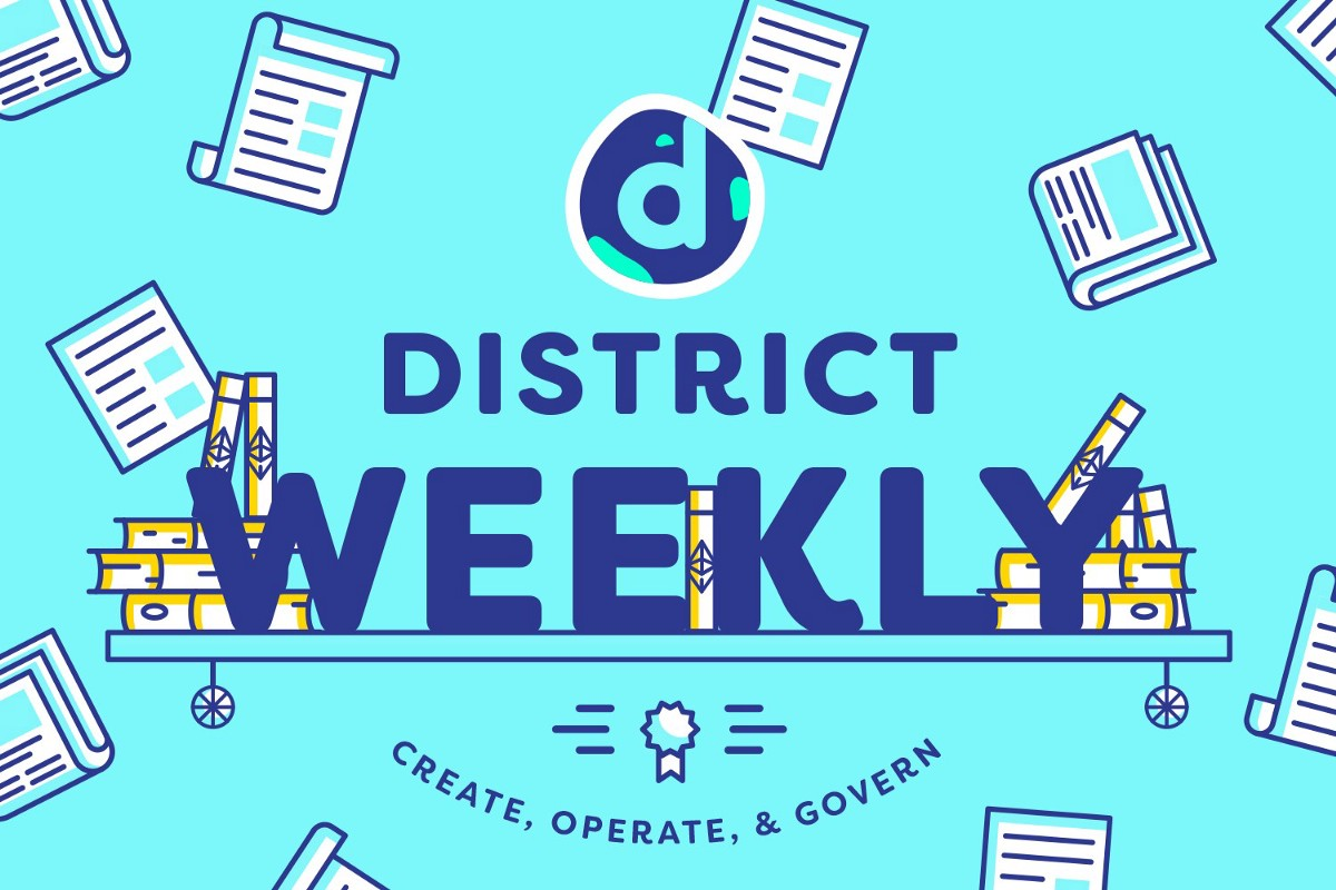 The District Weekly April 21st 2018 District0x