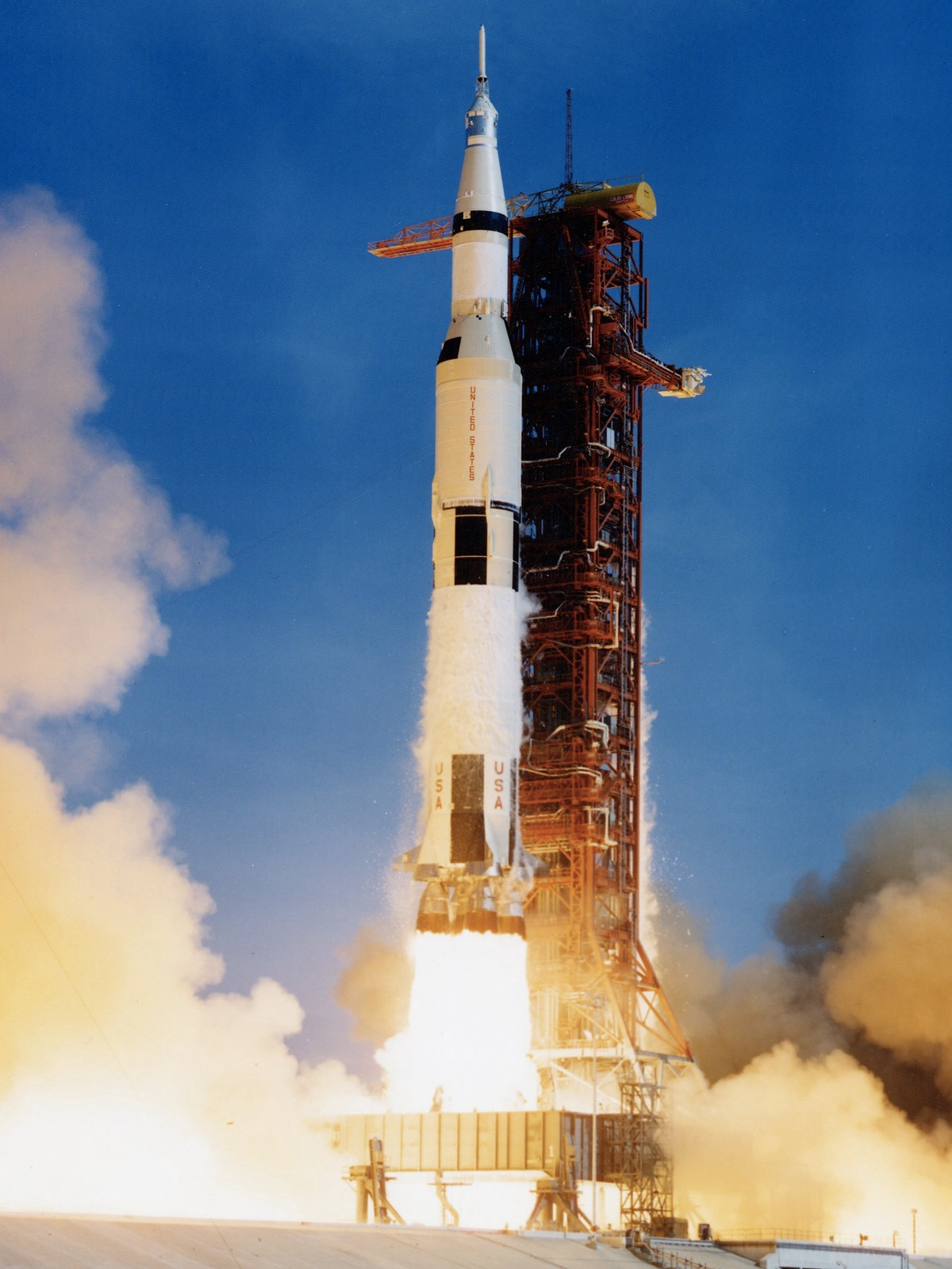 It is unlikely a Saturn V launch could be kept secret