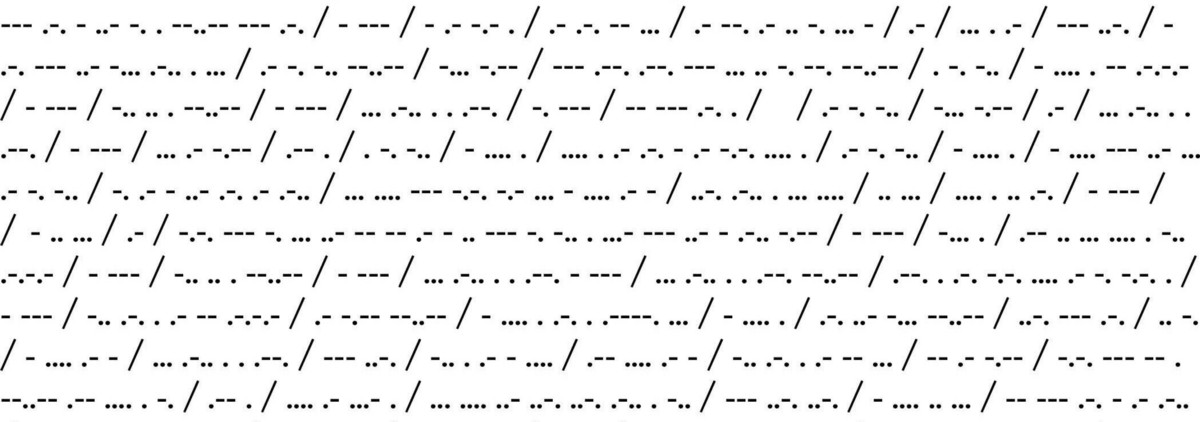 """""""Cracking"""" Morse code with RNNs"""