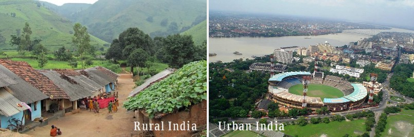 rural areas are better than urban areas