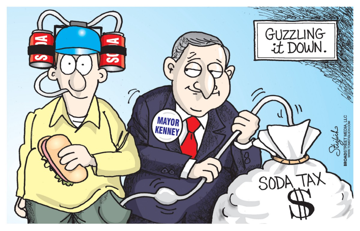 Op-ed: Kenney's soda tax is economically destructive