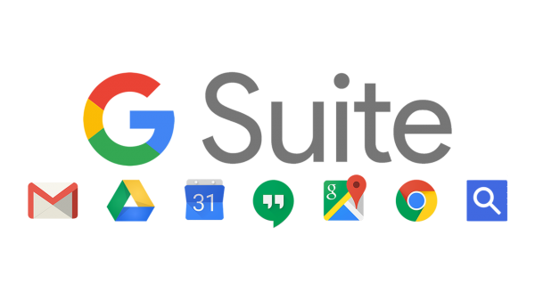 Bilderesultat for google g suite logo