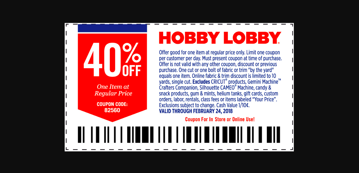 The Subtle Difference Between Coupons At Michaels And Hobby Lobby
