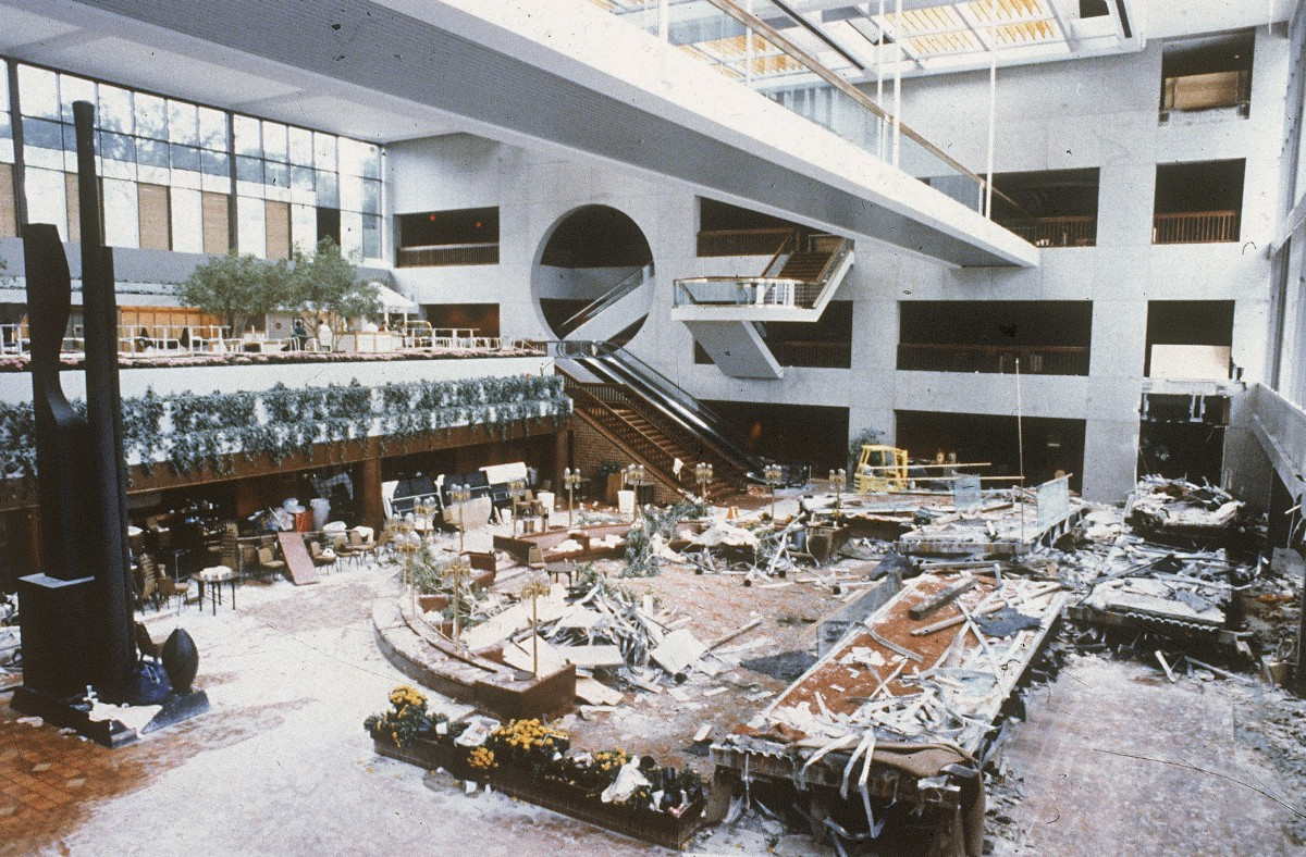 When This Hotel Skywalk Collapsed It Was One Of The
