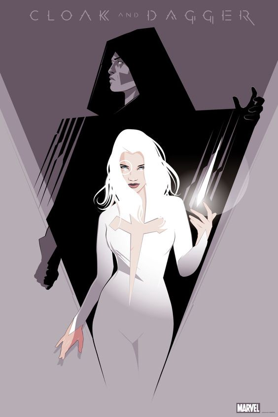love and drugs cloak and dagger � allisons wall � medium