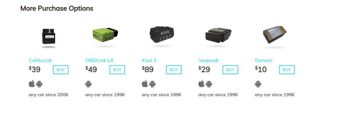 not all obd2 adapter are priced the same carista asks why. Black Bedroom Furniture Sets. Home Design Ideas