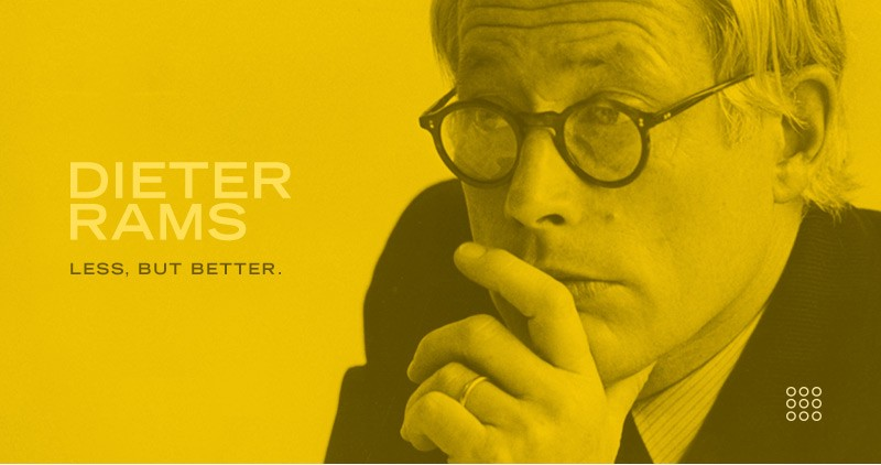 Why Creatives Should Never Forget Dieter Rams' 10 Commandments