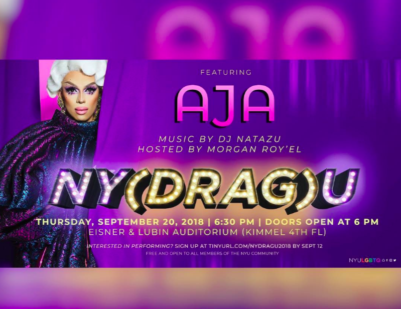 6a5e72e0185f29 NYU s LGBTQ Student Center Hosts Annual NY(Drag)U – NYU Local