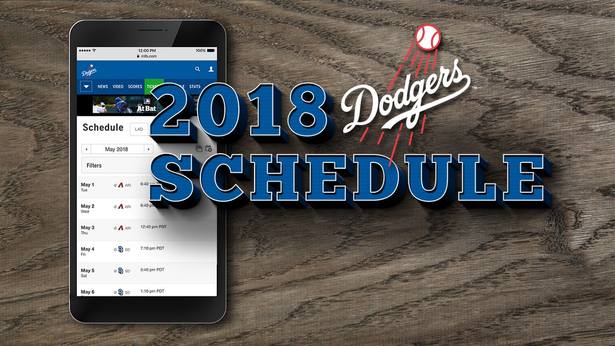 It's just an image of Fabulous Dodgers Printable Schedule