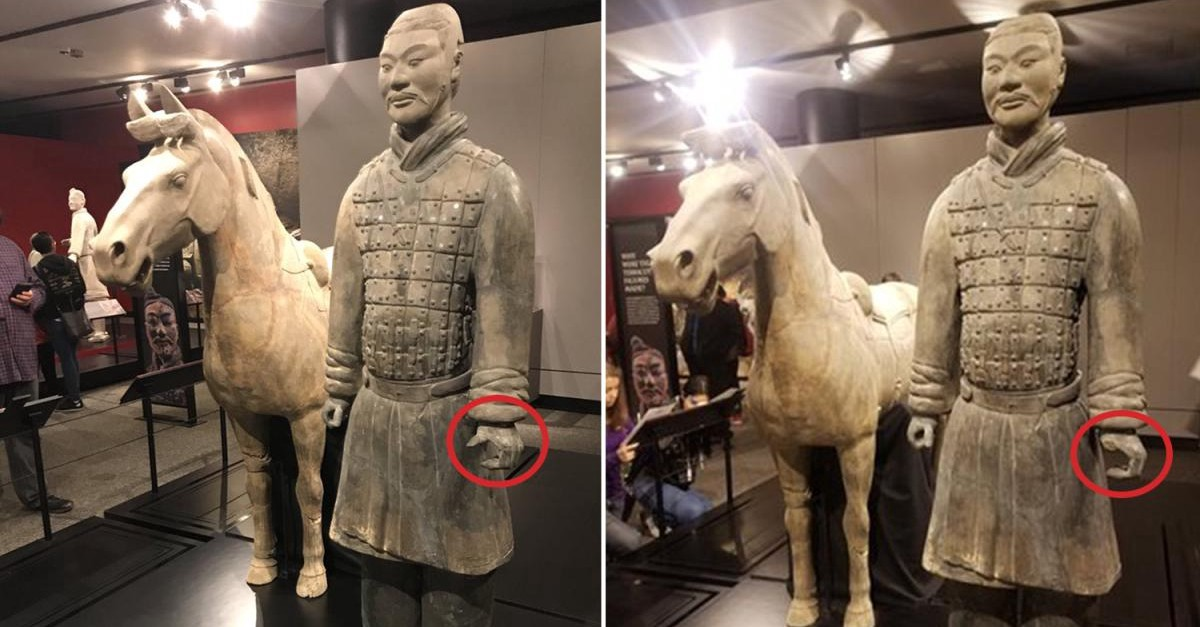 Image result for Man Arrested For Stealing Chinese Statue Thumb