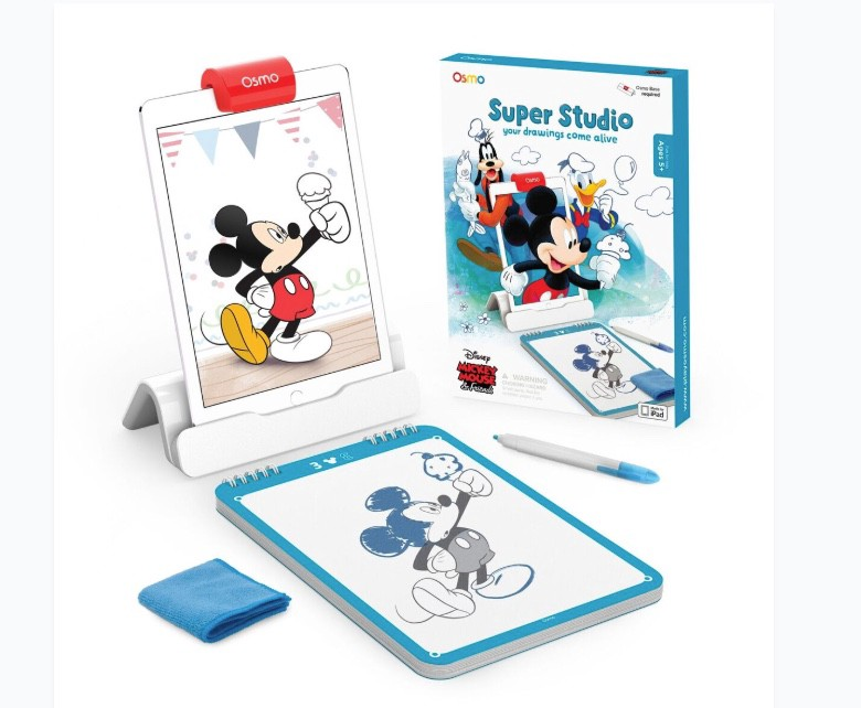 Osmo Super Studio Gets Kids Drawing With Disney Characters