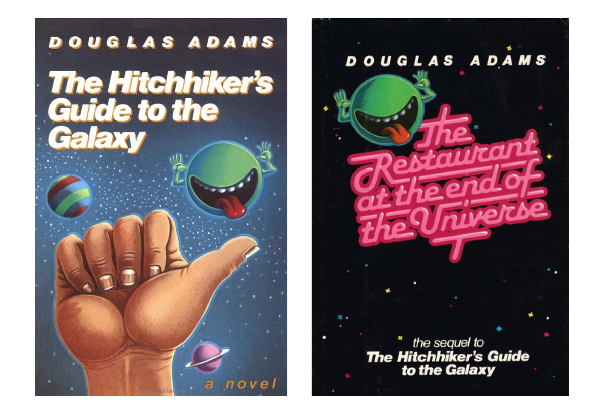 journal on hitchhikers guide to the The hitchhiker's guide to the galaxy / 5 first, it is slightly cheaper and secondly it has the words don't panic inscribed in large friendly letters on its cover.