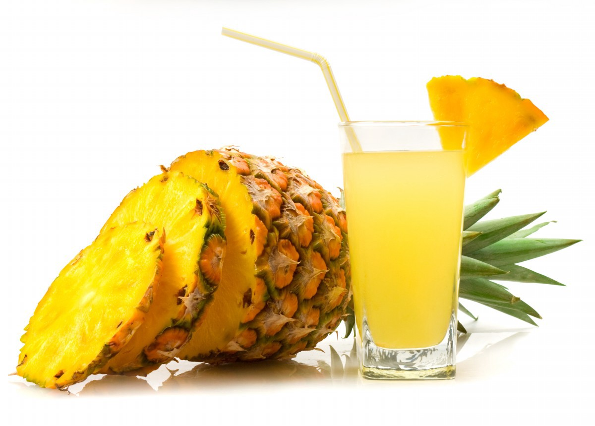 drinking pineapple juice before oral