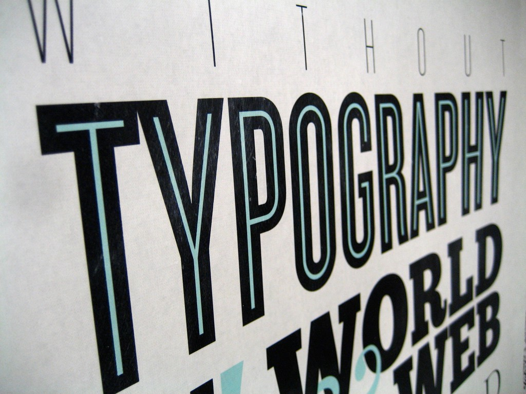 how typography determines readability serif vs sans serif and how