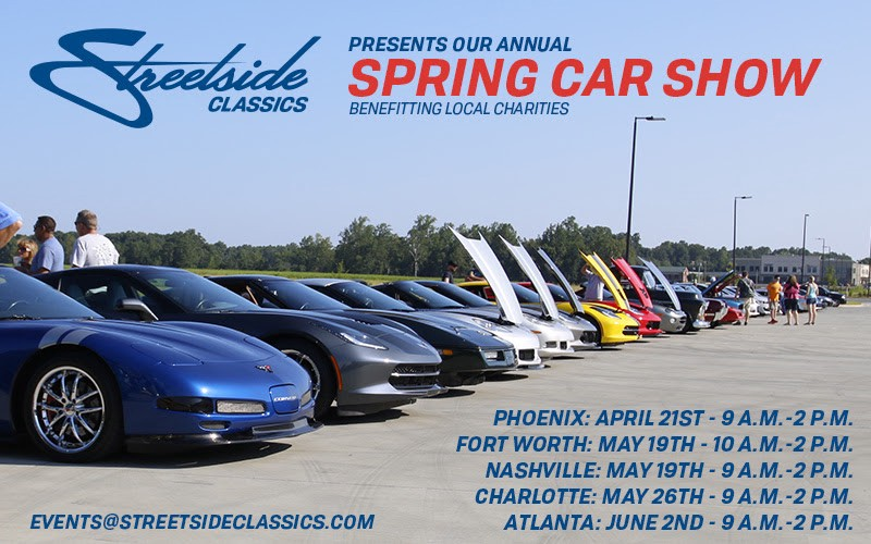 Streetside Classics Spring Car Shows Are Perfect For Enjoying - Streetside classics car show