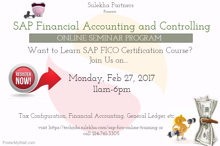 SAP Financial Accounting And Controlling Online Seminar Program