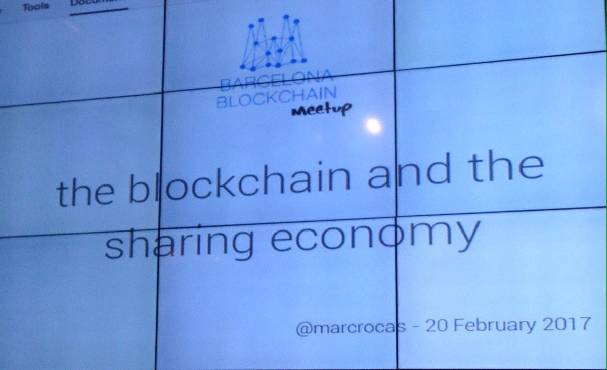 Blockchain and the Sharing Economy