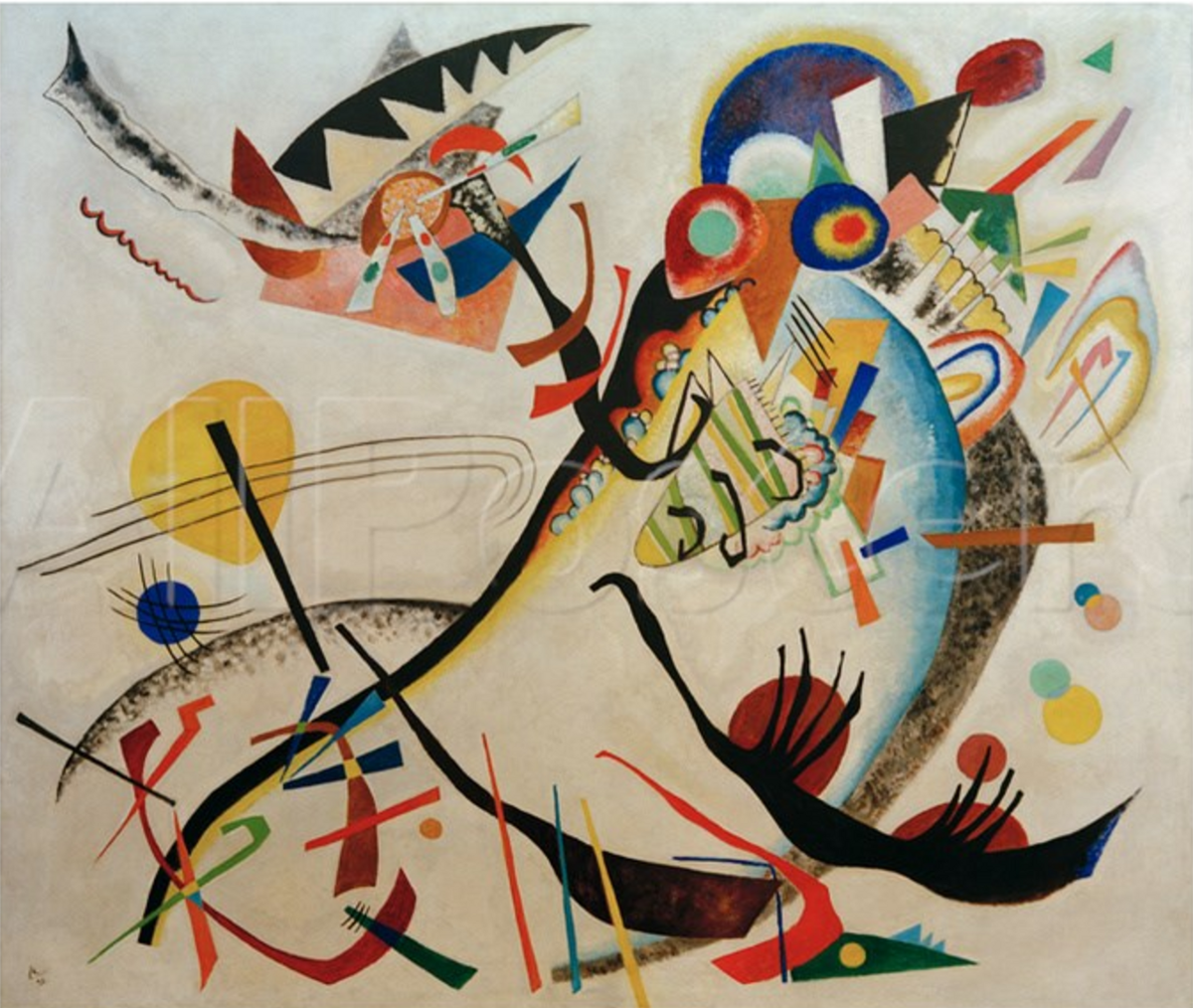 The a s and a d curves are not a wassily kandinsky painting - Piastrelle musica ...