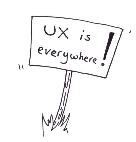 UX is everywhere — my talk from Ladies that UX lightning talks 2017
