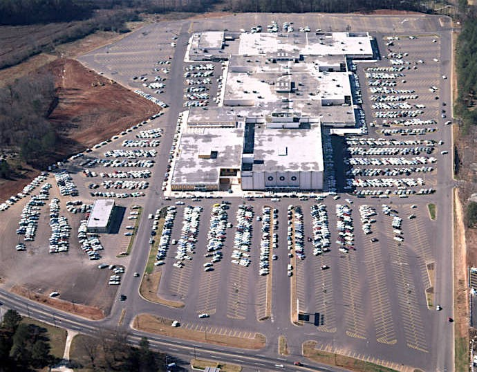 The Potential Demolition Of Metro Atlantas First Enclosed Mall