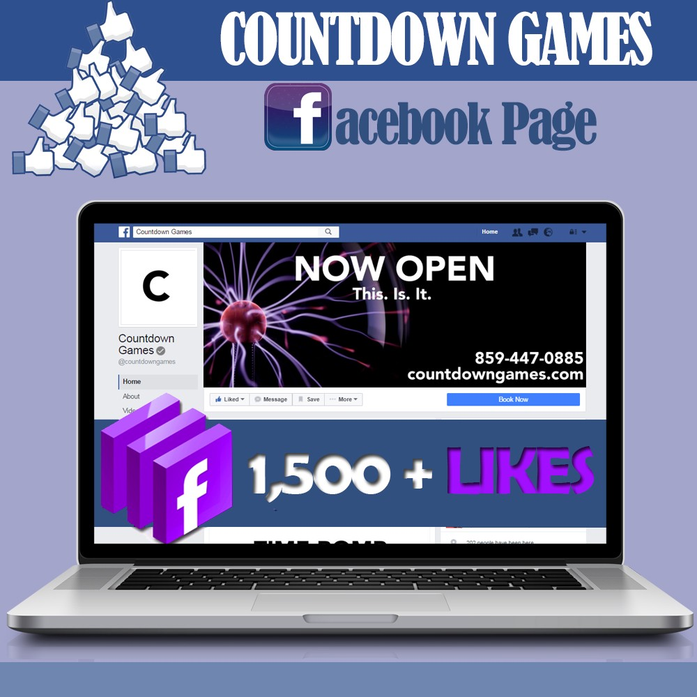 Countdown Games Facebook Page Has Reached More Than 1 500