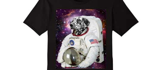 48c84e1ba ... space-themed t-shirts, enjoy! This fun Dog Astronaut Tee isn't on the  list, but you can still get it here.