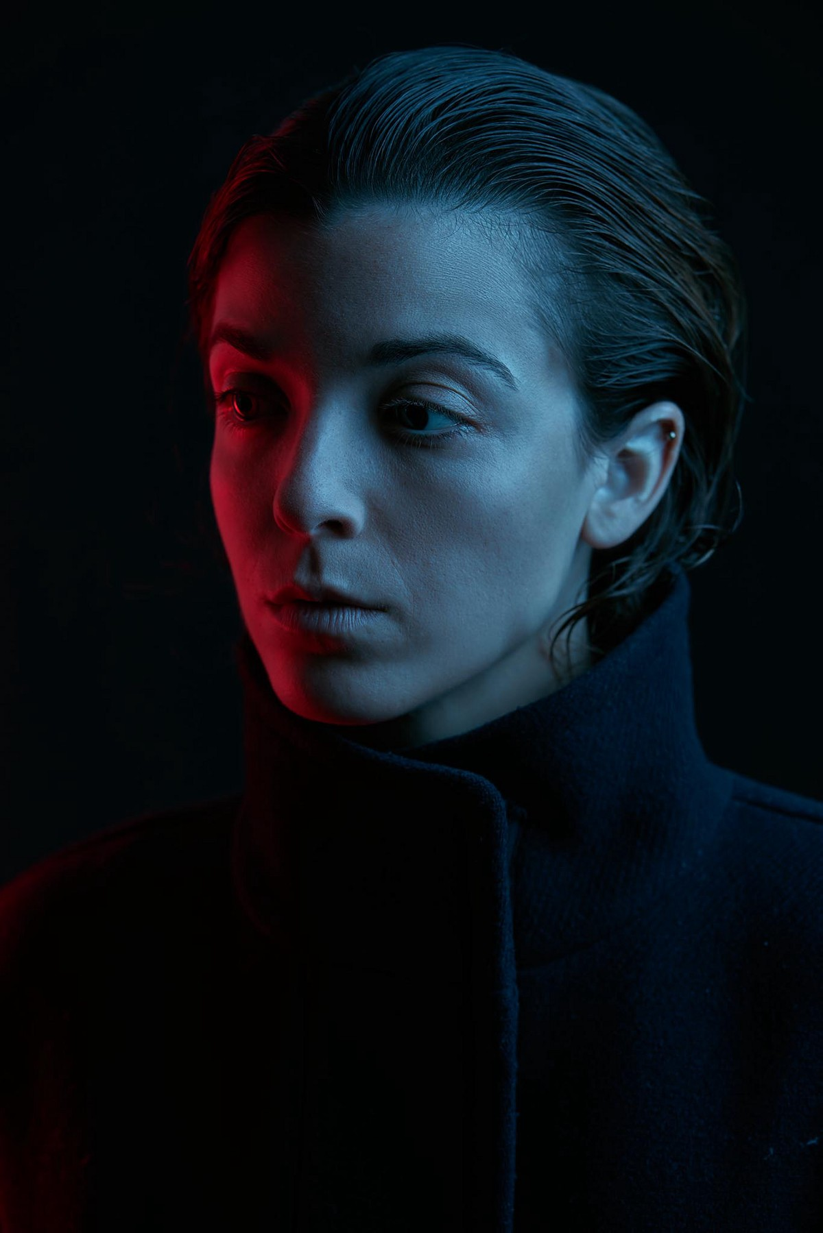 Shooting Blade Runner Inspired Portraits Using Colour Gels