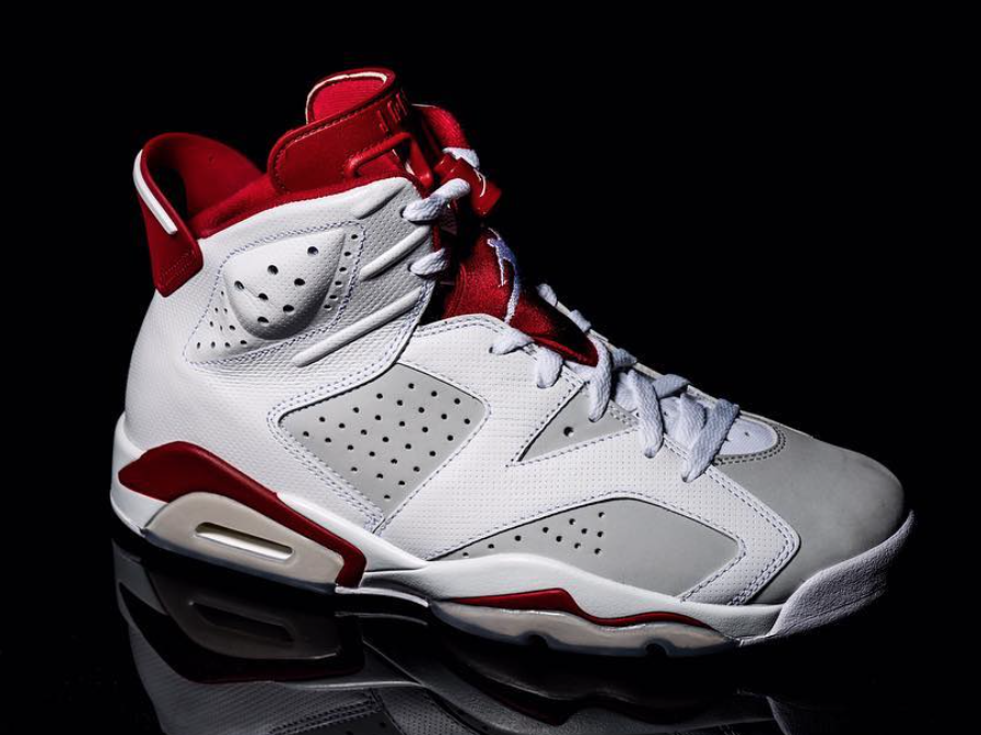 "0f14663bfcc3f1 Air Jordan 6 takes on the ""Alternate"" concept that first began in early  2015. Jordan Brand is offering up iconic Air Jordan models in other  colorways that ..."
