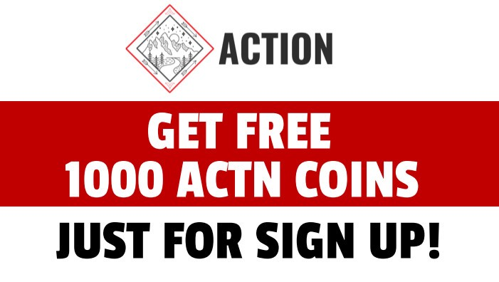 Get Free 1000 Action Coin Tokens