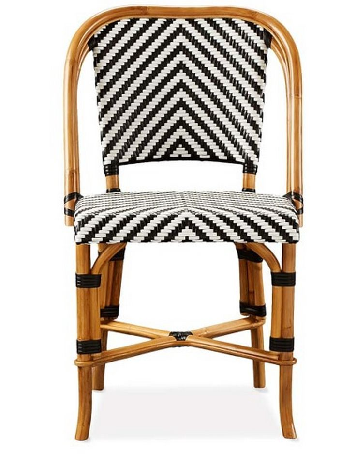 Made With Woven Rattan And Other Durable Materials, Bistro Chairs Are  Designed To Weather The Elements