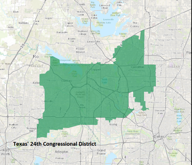 Texas 24th Congressional District