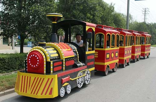 Image result for trackless trains