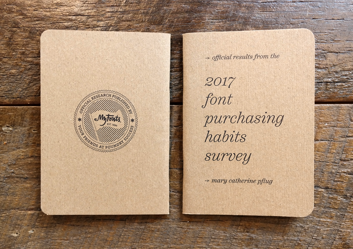 The 2017 font purchasing habits survey results mary catherine thanks scout books stopboris Choice Image