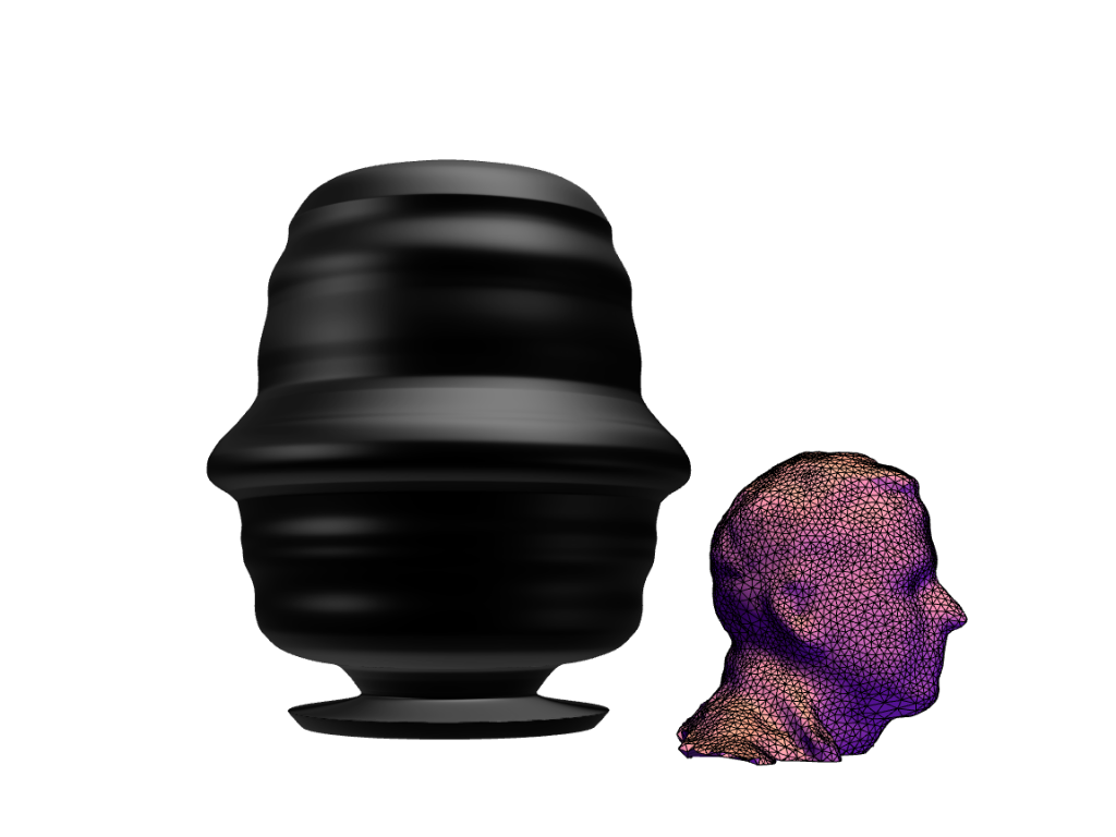 Vasified presidents and other famous persons as 3d printed vases i extracted the face outline from the scanned 3d head and revolved it this time as a positive image reviewsmspy