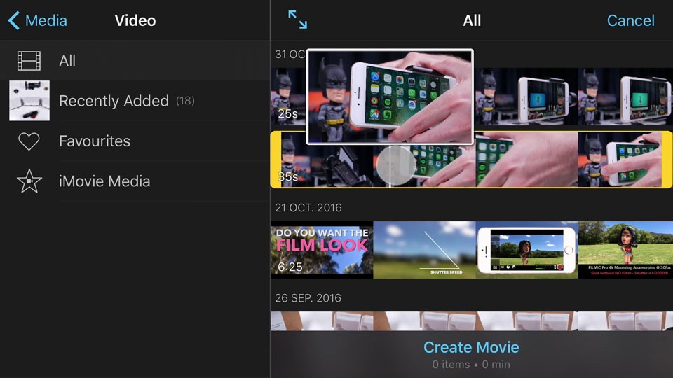 Imovie For Iphone Amp Ipad 15 Advanced Editing Tips