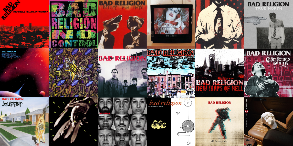 Ranking Bad Religion's 18 Albums — Worst to Best