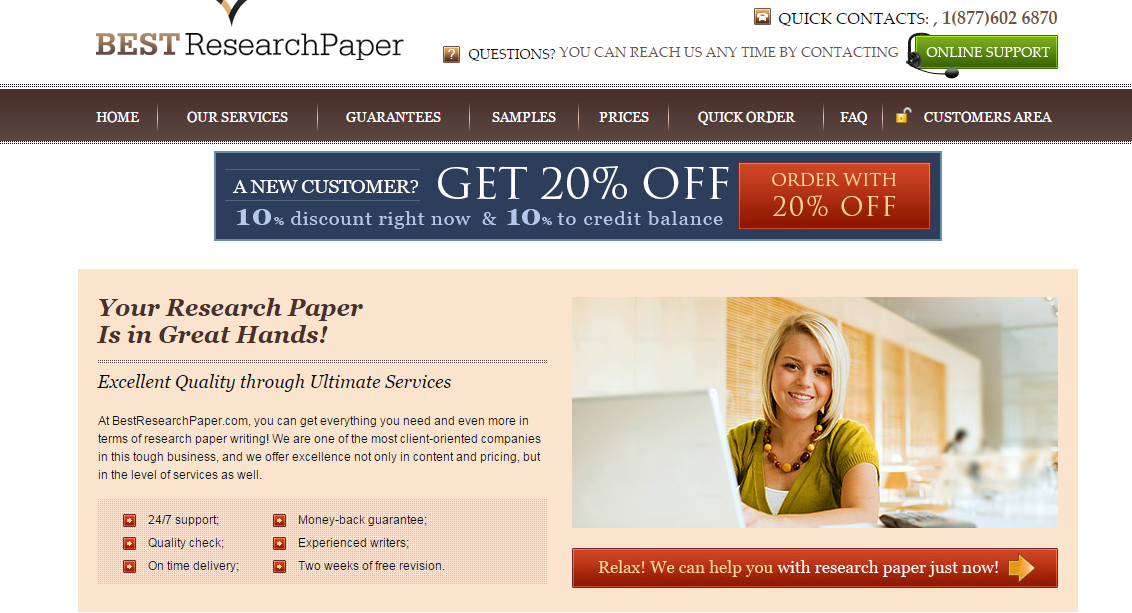 discount research paper writing companies