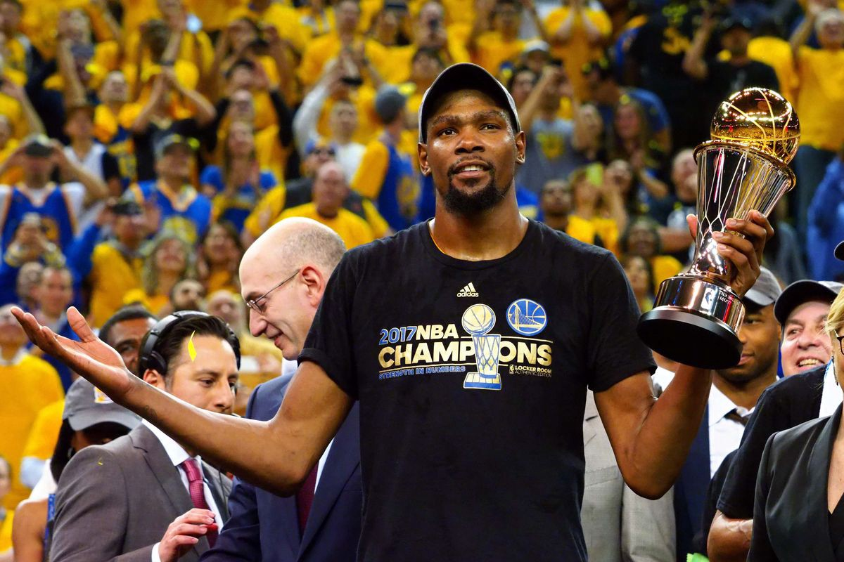 313cfc9c3172 Story of Strive  Kevin Durant Named Finals MVP After Warriors  Title Win