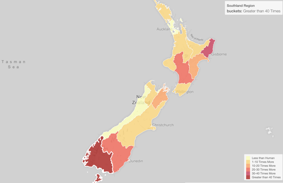Are There Really More Sheep Than Human In New Zealand - New zealand map png