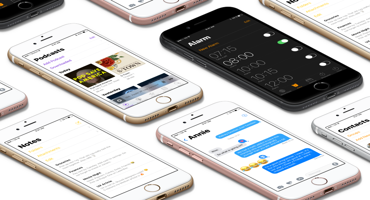 iOS 11, Complexion Reduction & Apple's New User Interface