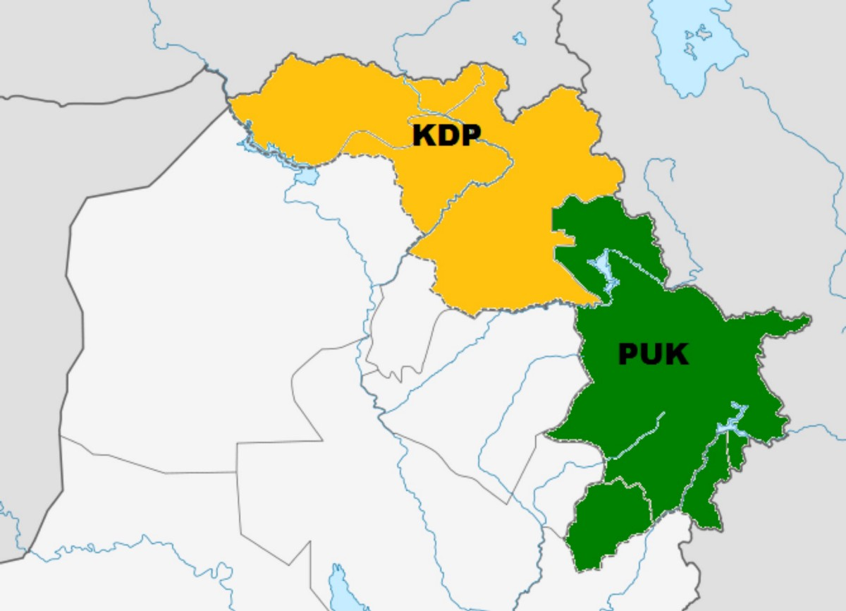 Kurdistan why it is not on the map mrkailani medium areas of northern iraq controlled by main kurdish groups 1991 this was the area given to iraqi kurdistan by an autonomy request from separatists gumiabroncs Choice Image