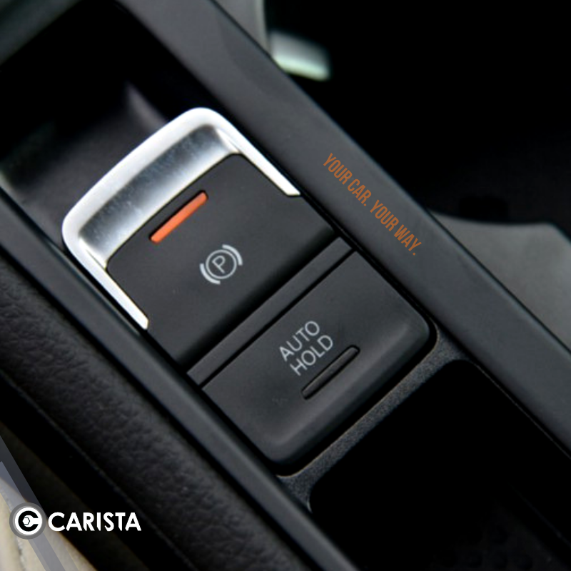 Most New Audi And Vw Models Some Seat Skoda Too Have An Electronic Parking Brake Epb This Adds A Lot Of Convenience For The Driver Car