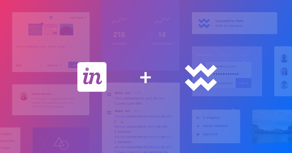 Wake is joining InVision