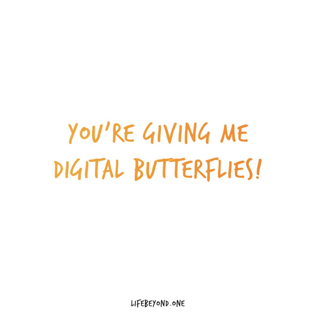 you're giving me digital butterflies—digital distraction smartphone addiction in personal relationships